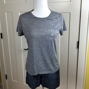 Zoe + Liv graphic tee, size large
